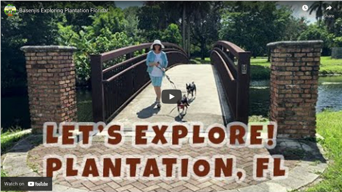 Watch this video of us exploring plantation florida on YouTube